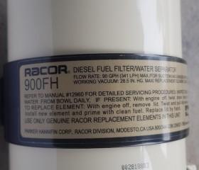 Lọc dầu tách nước Racor 900 FH