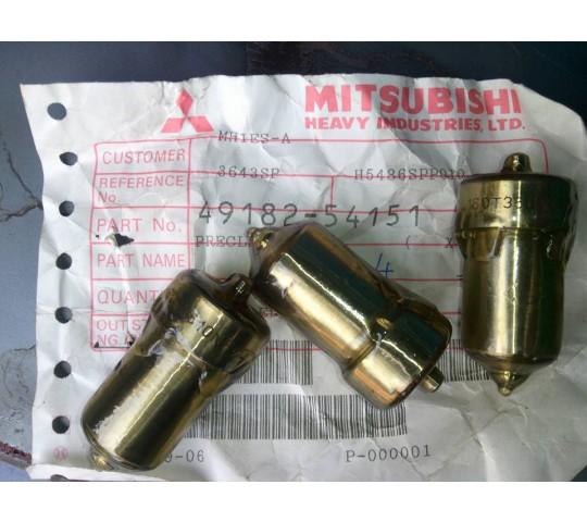 Kim phun ( beg) máy phát điện Mitsubishi