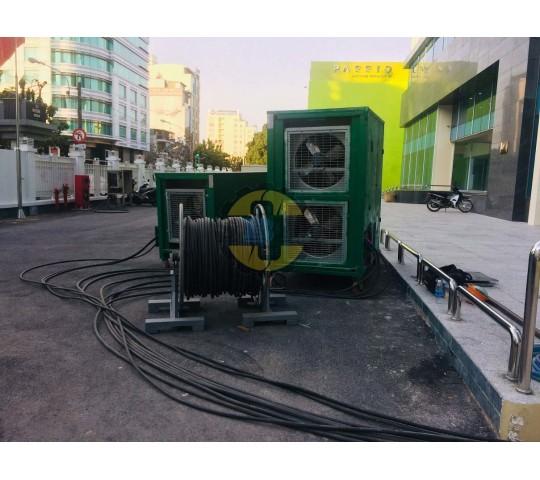 Thử tải máy phát điện 1000 kva